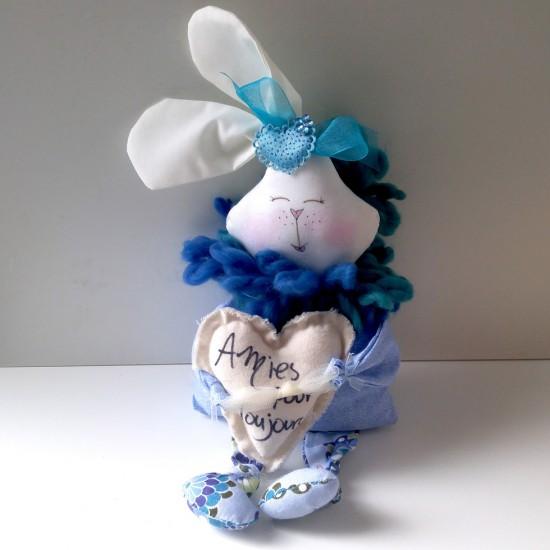 Lapin coquin bleu