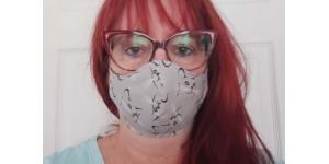 - Masque en tissus