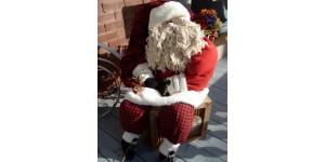 - Père Noël géant